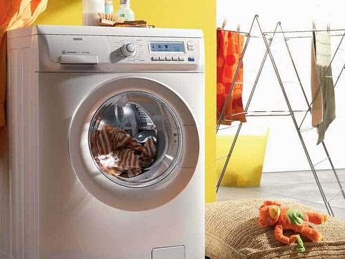 維修前置式洗衣機